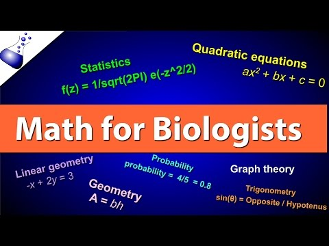 Math for Biologists