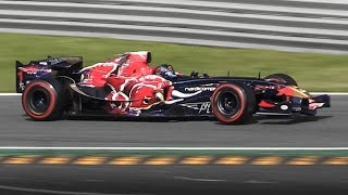 Toro Rosso STR1: the last F1 to use a V10 engine - Cosworth TJ2006 3.0L Sound!