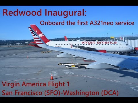 Redwood Inaugural: Onboard the first A321neo Service