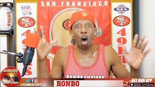 Ronbo Sports In Yo Face, At Yo Place Watching The Game! 49ers VS Rams 2016 Week 1 NFL