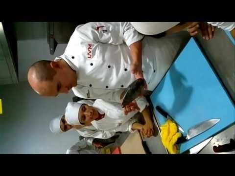 Pescados y mariscos con el chef Jaime Fabregas