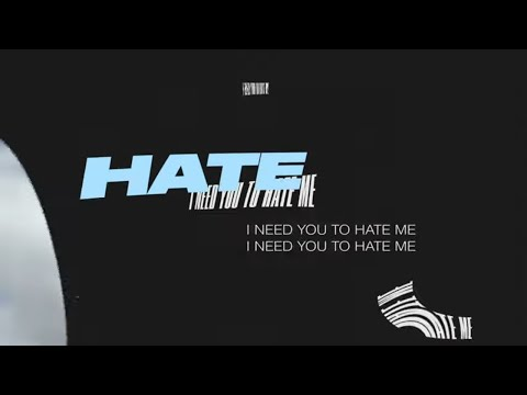 JC Stewart - I Need You To Hate Me (Official Lyric Video)