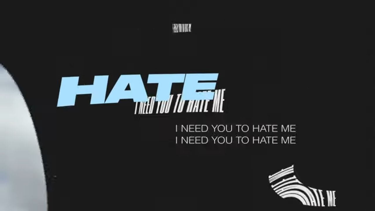 JC Stewart   I Need You To Hate Me Official Lyric Video