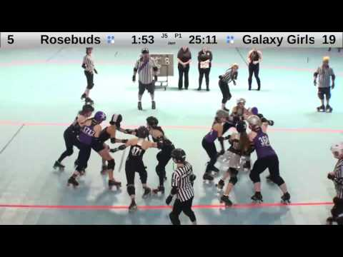 4/9: Portland's Rose Bud All-Stars VS. Seattle's Derby Brat Galaxy Girls