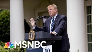 President Donald Trump: 'There Is Danger' If Democrats Pursue The 'I-Word' | MSNBC