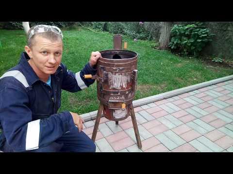 Печь под Казан из газового баллона 25л.