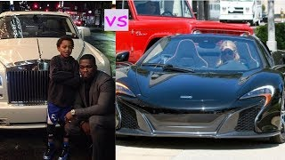 50 cent cars vs Paris hilton cars (2018)