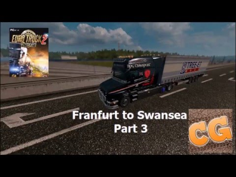 Frankfurt to Swansea Part 3  We finally finish our trip
