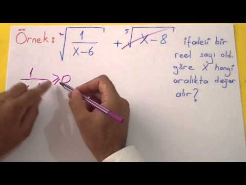 Köklü Sayılar 3 Şenol Hoca Matematik