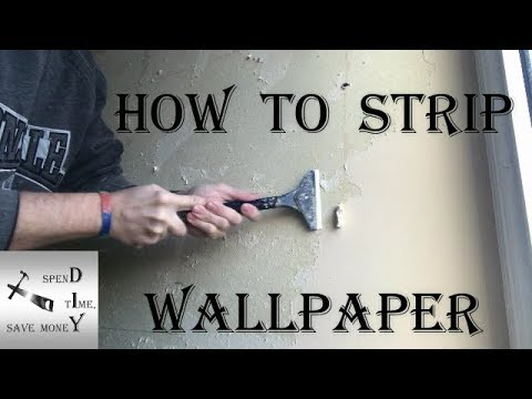 Easiest Way To Strip Wallpaper Without A Steamer Fast And Easy