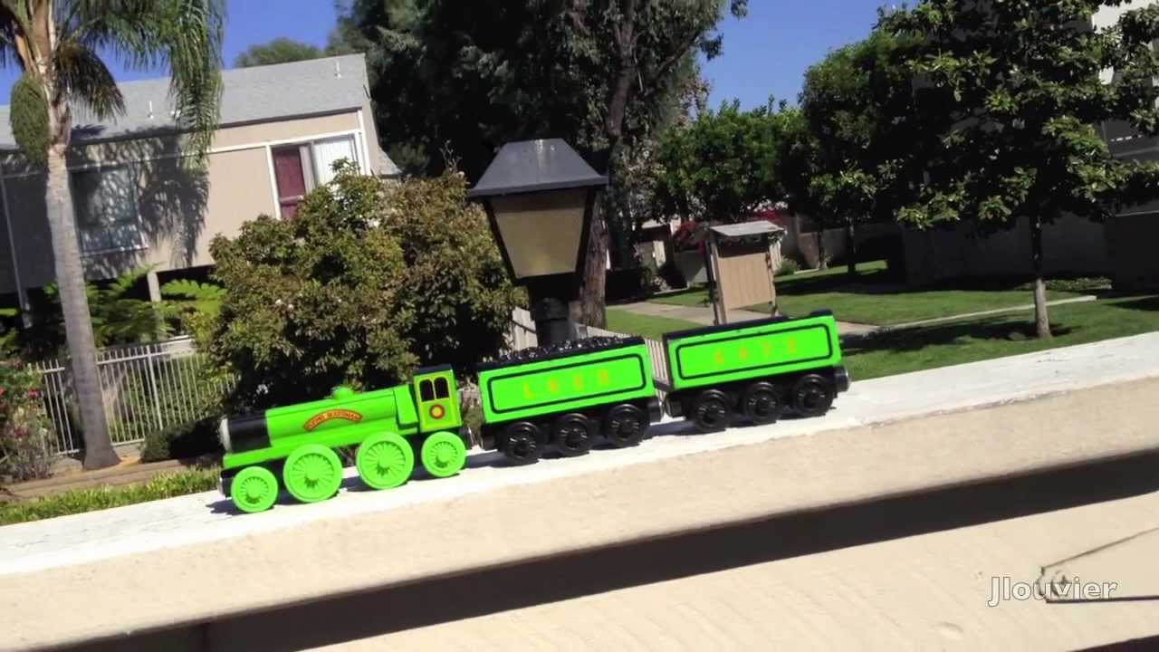 The Flying Scotsman A Thomas Friends Tank Engine Wooden Railway Retro Toy Review