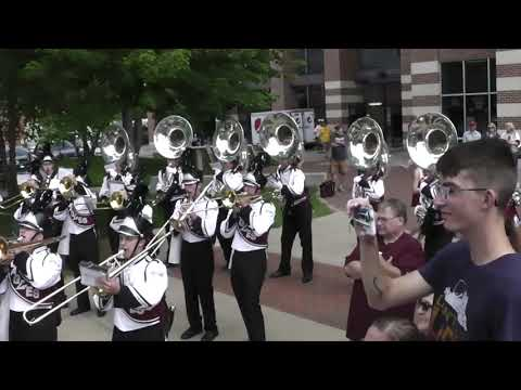 UW La Crosse Marching Band Game Day Sept 7, 2019