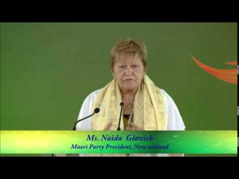 The Honorable Ms Naida Glavish-Maori Party President-New Zealand  - Speaker, IWC 2014