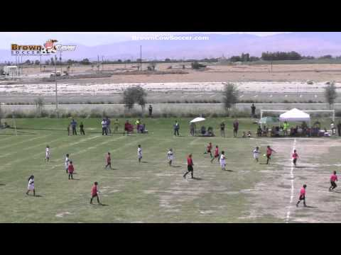 20130623 Campeon U8 Finals   Milan v Bakersfield United 2