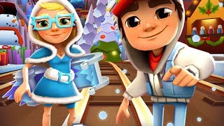 SUBWAY SURFERS CHRISTMAS 2017 - SAINT PETERSBURG ✔ JAKE AND TRICKY + 55 MYSTERY BOXES OPENING