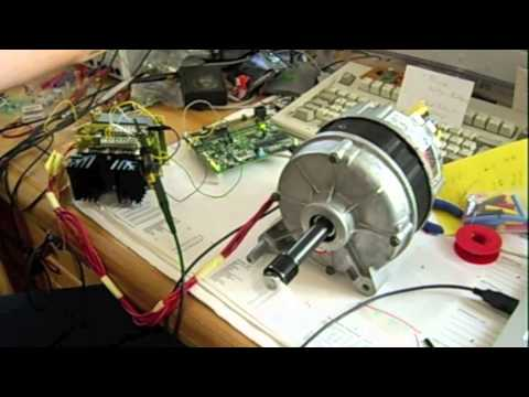 Switched Reluctance Motor Test Youtube