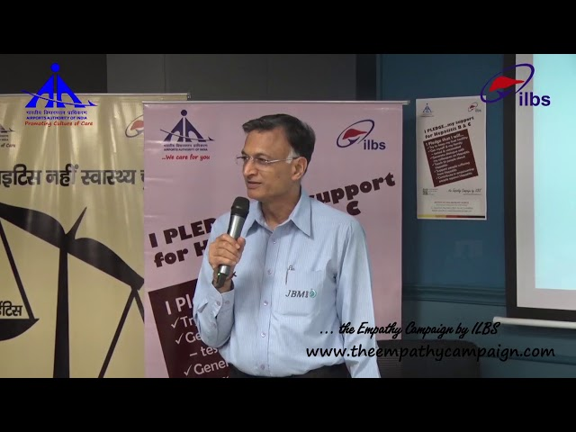 Shri S. K. Arya, Chairman, JBM during I Pledge ...(my support) initiative