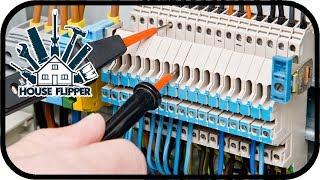 House Flipper - Aushilfselektriker am Werk #002 - Handwerker Simulator Deutsch Gameplay
