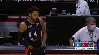 Derrick Rose Showed Out In His Knicks Return