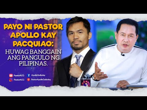 PASTOR APOLLO ON CURRENT ISSUES