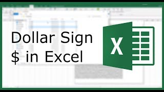 Dollar Sign $ in Excel | Excel in Minutes