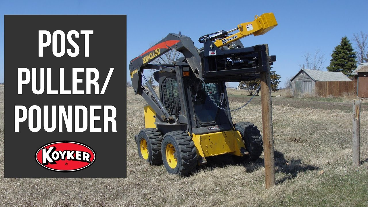 Fence Post Puller Pounder Youtube
