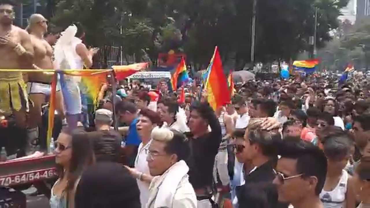 Gay pride mexico city