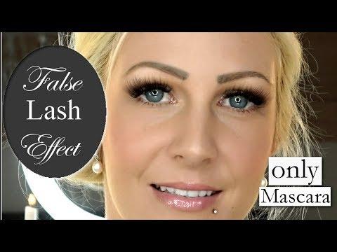 False Lash Effect I Der ULTIMATIVE GEHEIMTIPP I Using JUST MASCARA