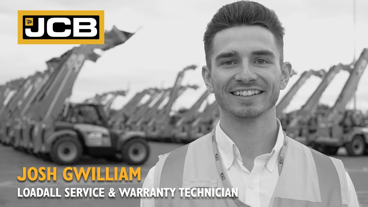 JCB Careers Stories - Josh Gwilliam, Service & Warranty Technician