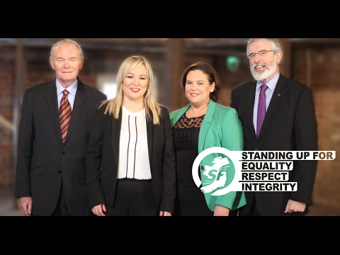 Sinn Féin Party Election Broadcast Assembly Election 2017