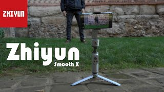 Mobile Filmmaking with the Zhiyun Smooth X Gimbal