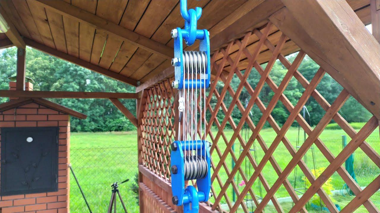 Wielokrążek / pulley system