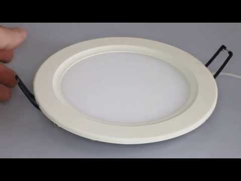 Светильник светодиодный потолочный Fusion ф170мм