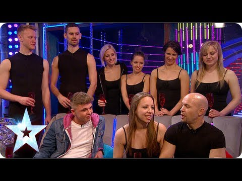 Stephen chats with Attraction and Jordan O'Keefe | Semi-Final 5 | Britain's Got More Talent 2013