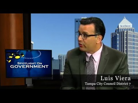 Spotlight on Government: Luis Viera, Tampa City Council District 7