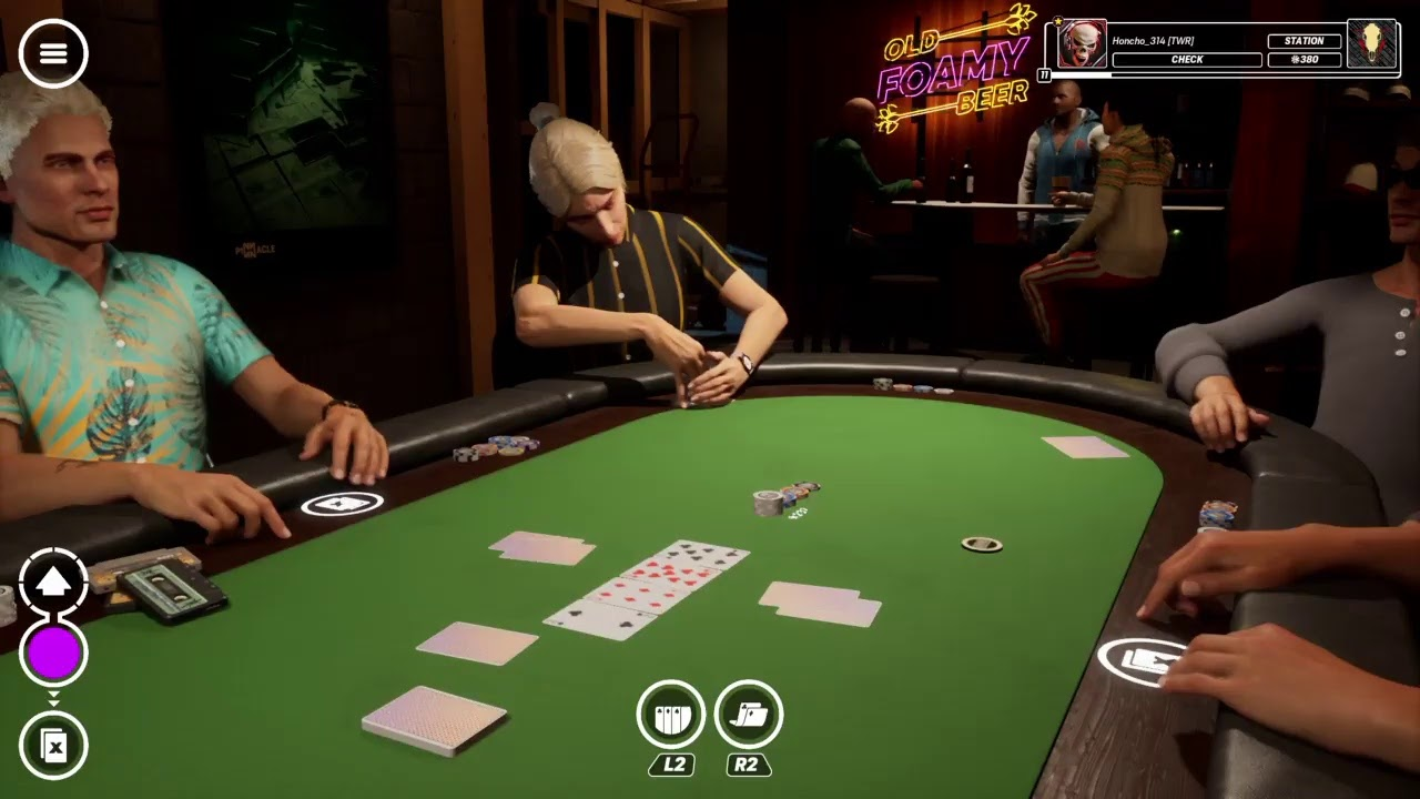 Ps4 Poker Club Online Grinding On The Table Daily Cash Game Youtube
