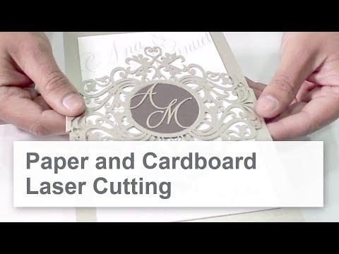 Laser cutting, laser engraving and perforating paper & cardboard