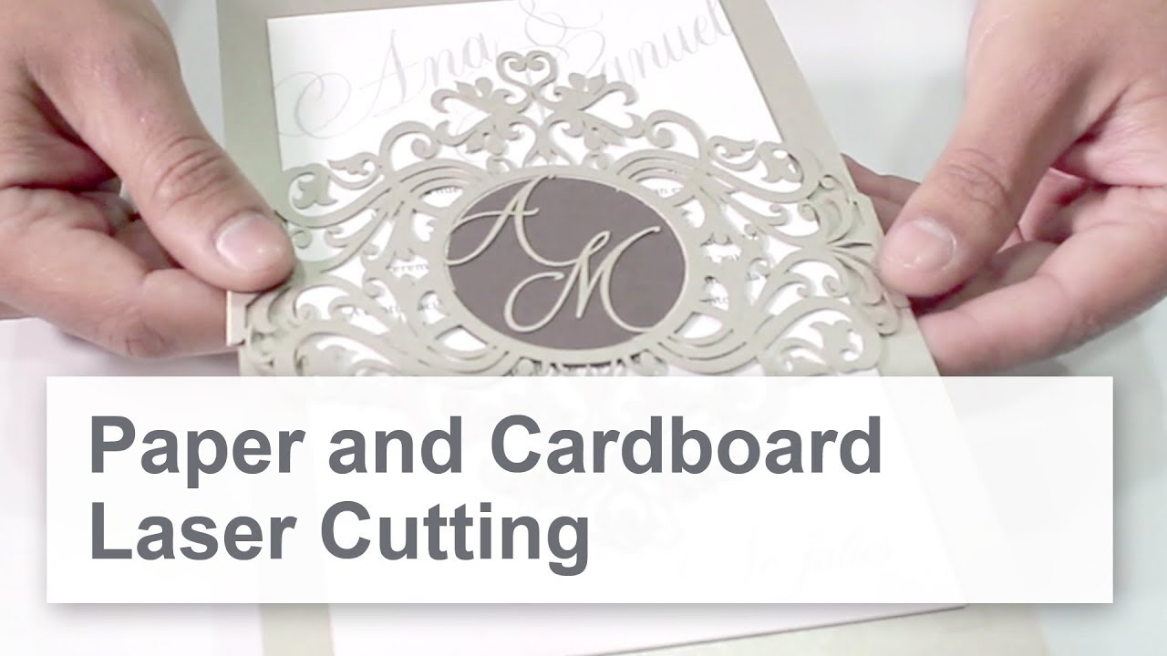 Paper Cutting with a Laser - Create Unique Designs with Intricate ...