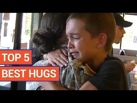 Top 5 Best Hugs Compilation