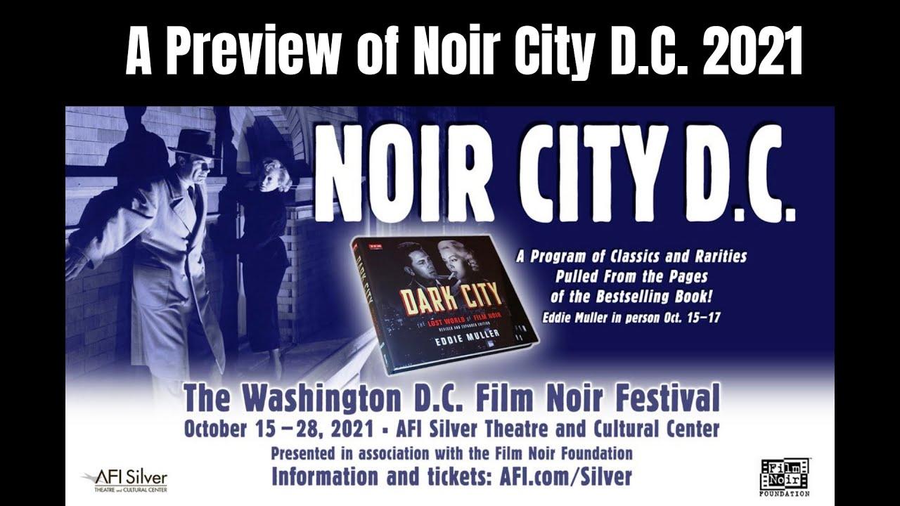 Noir City DC 2021 Preview
