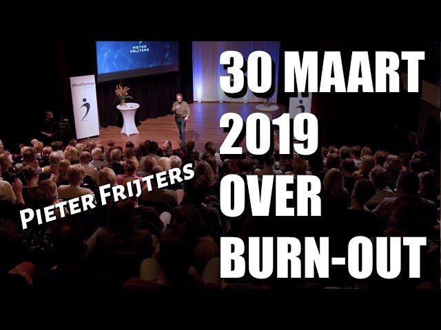 Seminar over burn-out oplossen | Pieter Frijters | MindTuning |