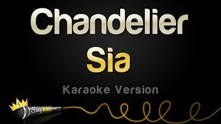 Gambar cover Sia - Chandelier (Karaoke Version)