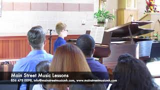 Kyle Miller-Glaviano performing Sonatina in G