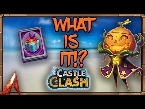 Castle Clash F2P Series! Special Hero Card!