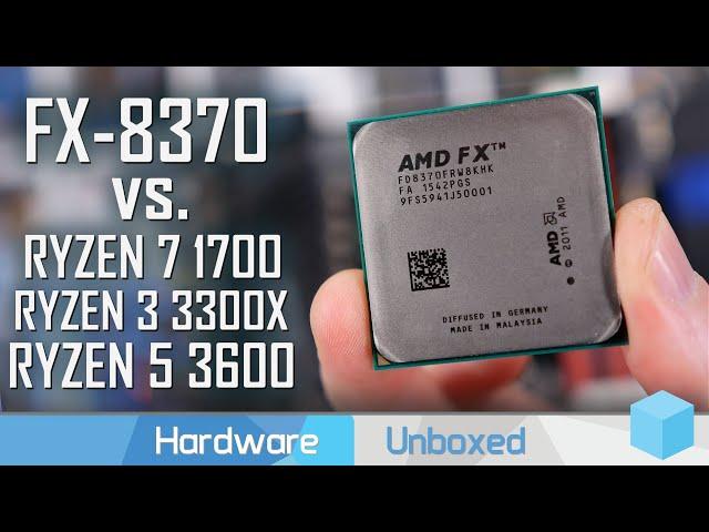 GPU Scaling, AMD FX 8370 vs. Ryzen 3, 5 & 7