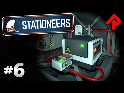 Power Storage using Transformers (Attempt 1) | Let's play Stationeers gameplay ep 6 (PC alpha)