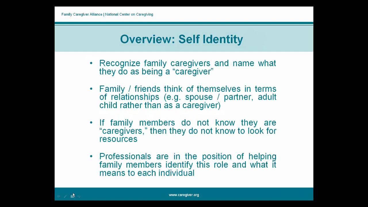 FCA Webinars   Family Caregiver Alliance