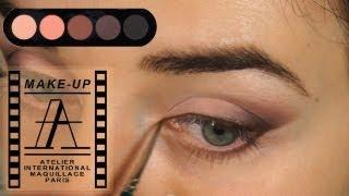 Макияж Кошачий глаз в карандашной технике | Cat's eye