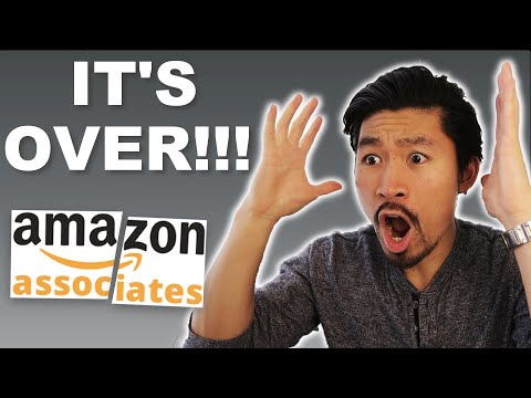 The END of Amazon Affiliate Marketing?! What Next?