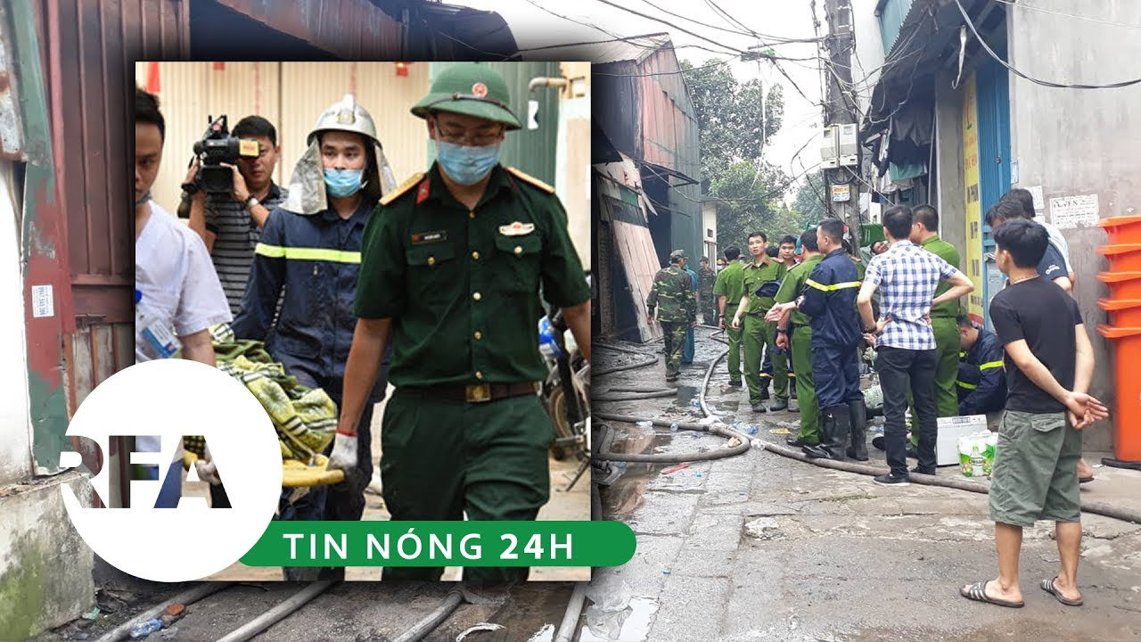 Tin nóng 24h   Nhiều người chết cháy trong vụ hỏa hoạn lớn ở Hà Nội